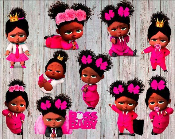 African American Girl Boss Baby Clipart Boss Baby Girl.