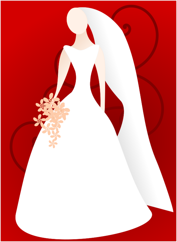 Bridal shower bride and groom clipart free wedding graphics.
