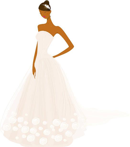 Best African American Wedding Illustrations, Royalty.