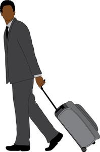 Businessman Clipart Image.