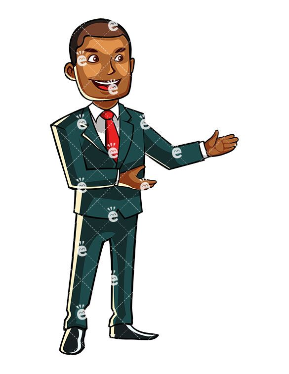 Businessman clipart african american, Businessman african.