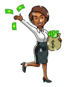 179 Best Black Businesswoman Clipart images.