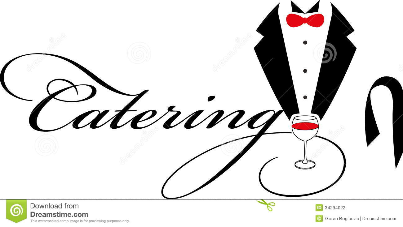 Women Catering Clipart.