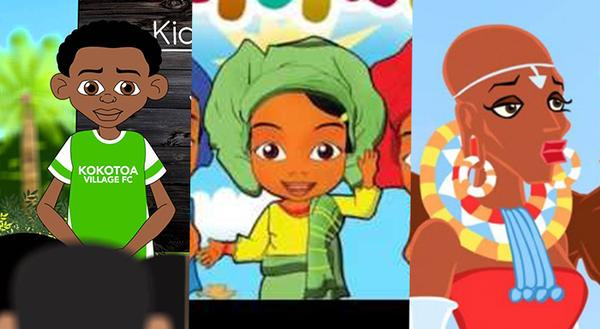 A List of Black African Made Children\'s Animated Cartoons.