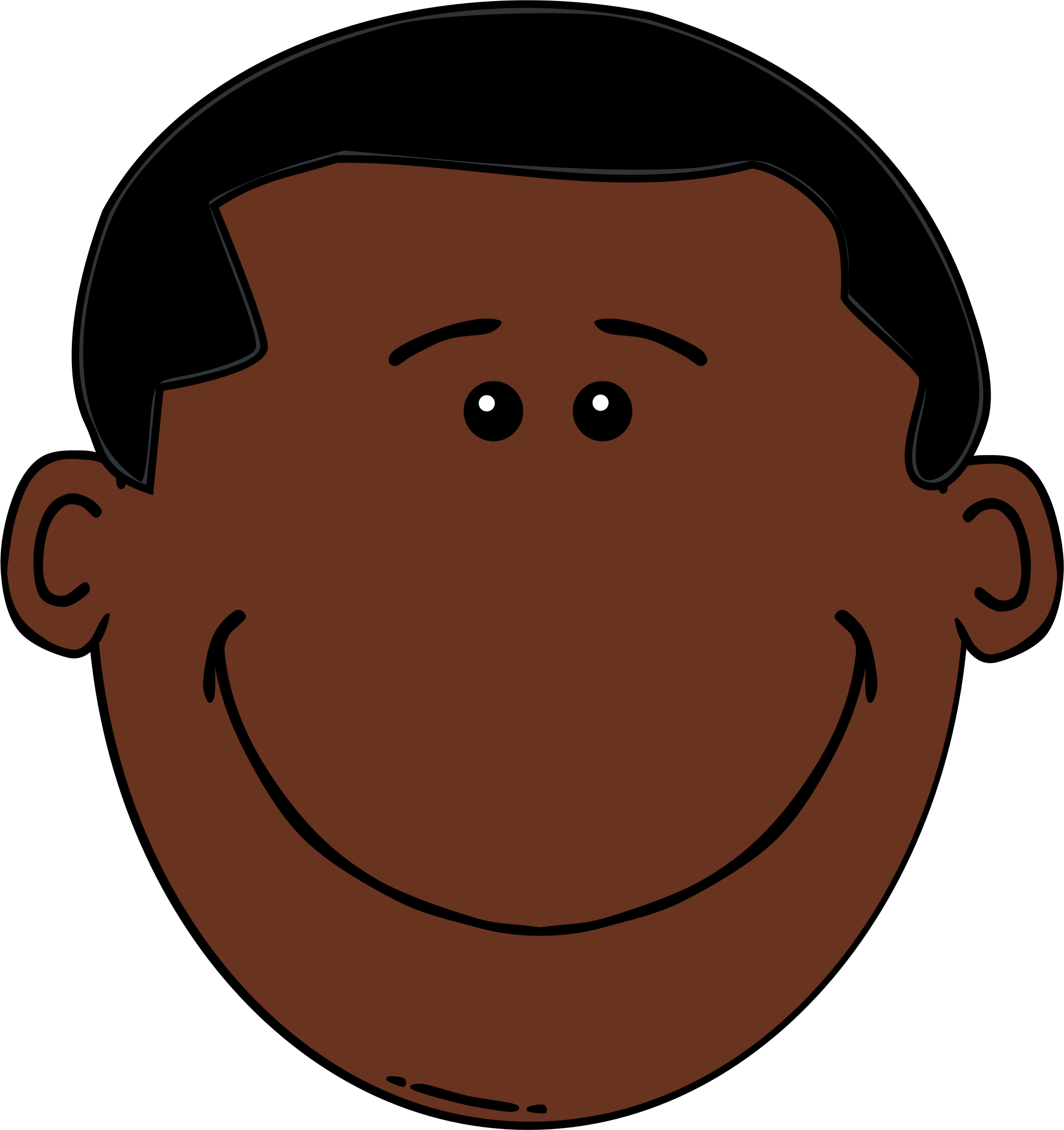 Nose clipart african american, Nose african american.