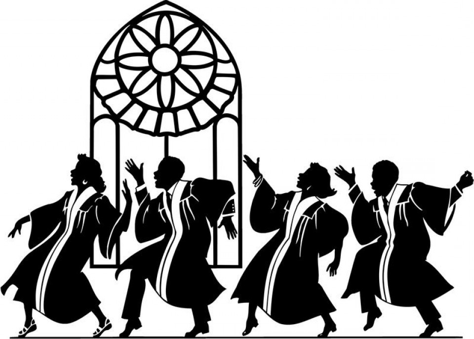 Free Black Choir Cliparts, Download Free Clip Art, Free Clip Art on.