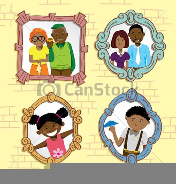 African American Family Clipart Pictures.