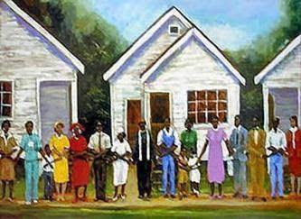 African American Church Clip Art.