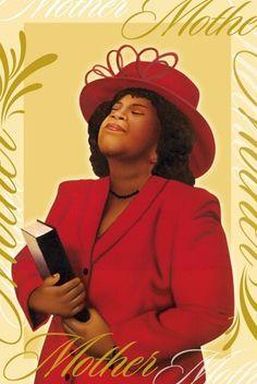 African American Christian Women Clip Art.