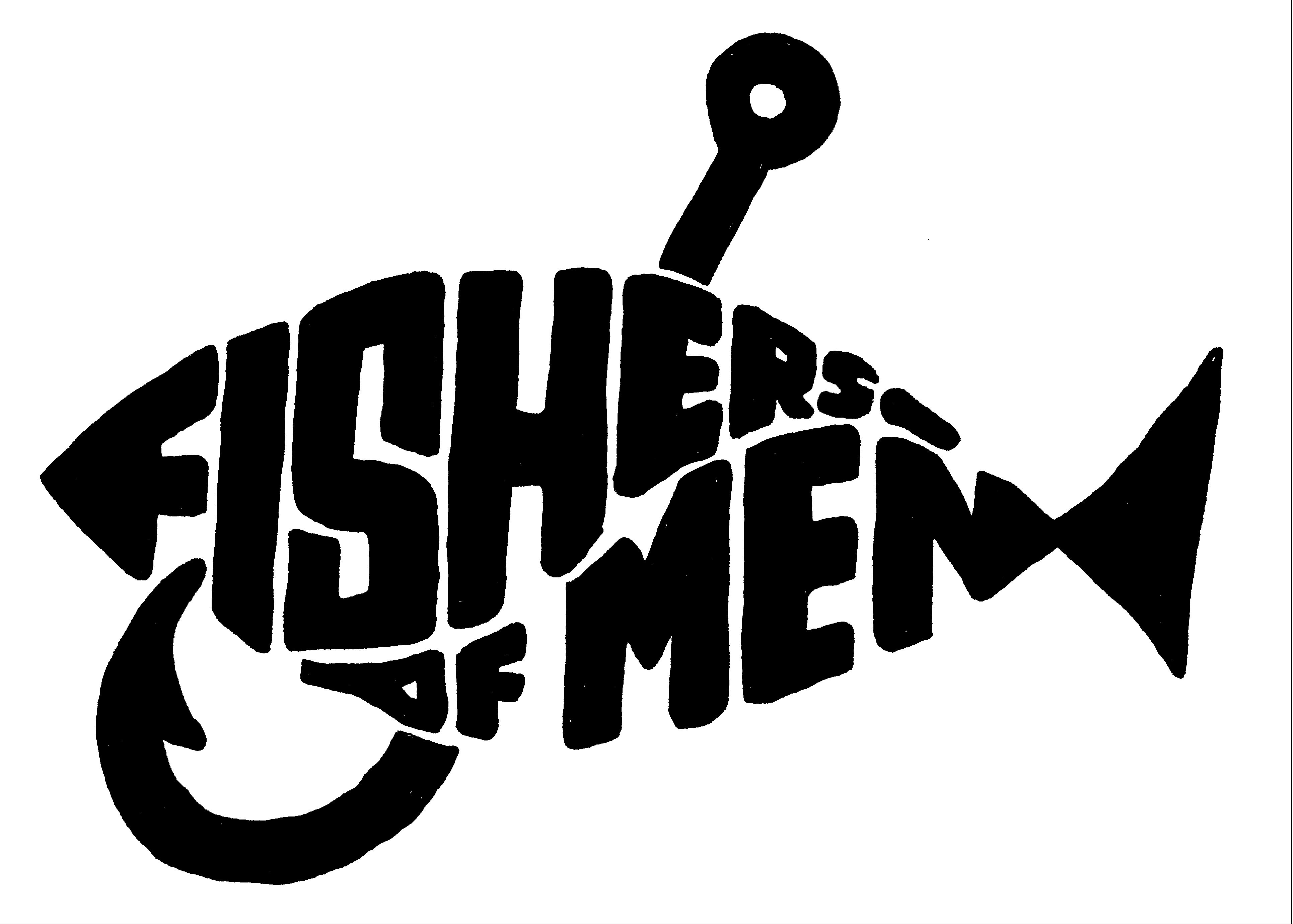 Free christian fishers of men clipart.
