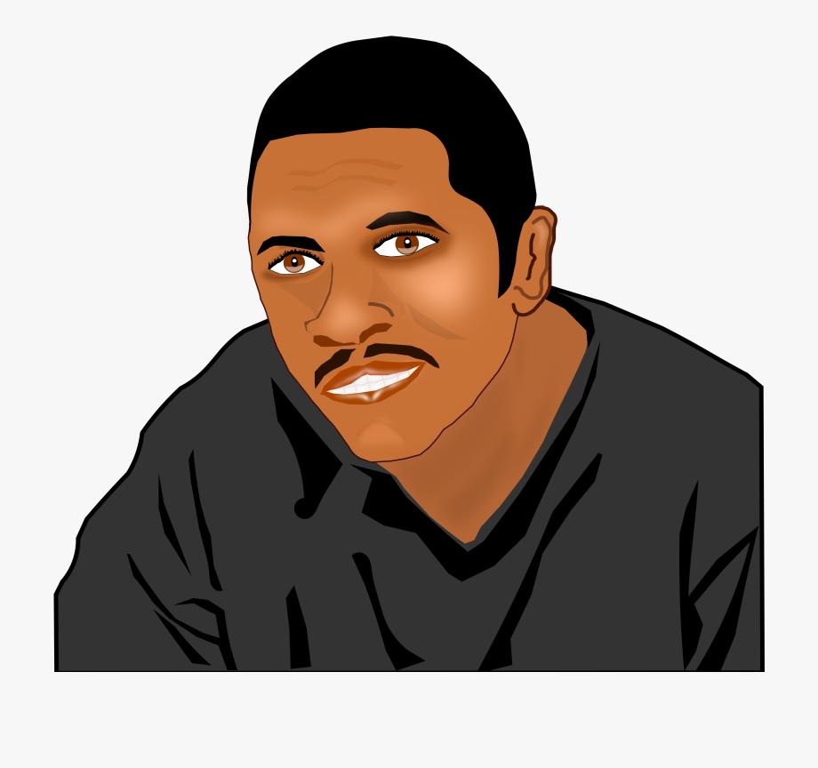 Christian Clip Art African Americans Man Black Cartoon.