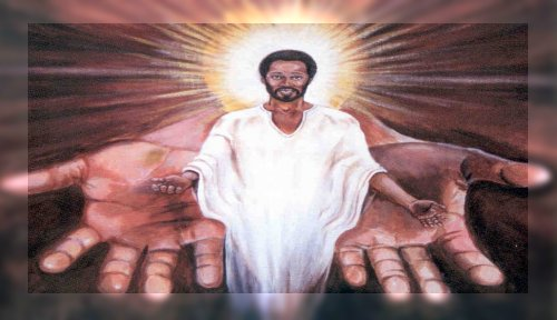 African American Christian Clip Art 041812» Vector Clip Art.
