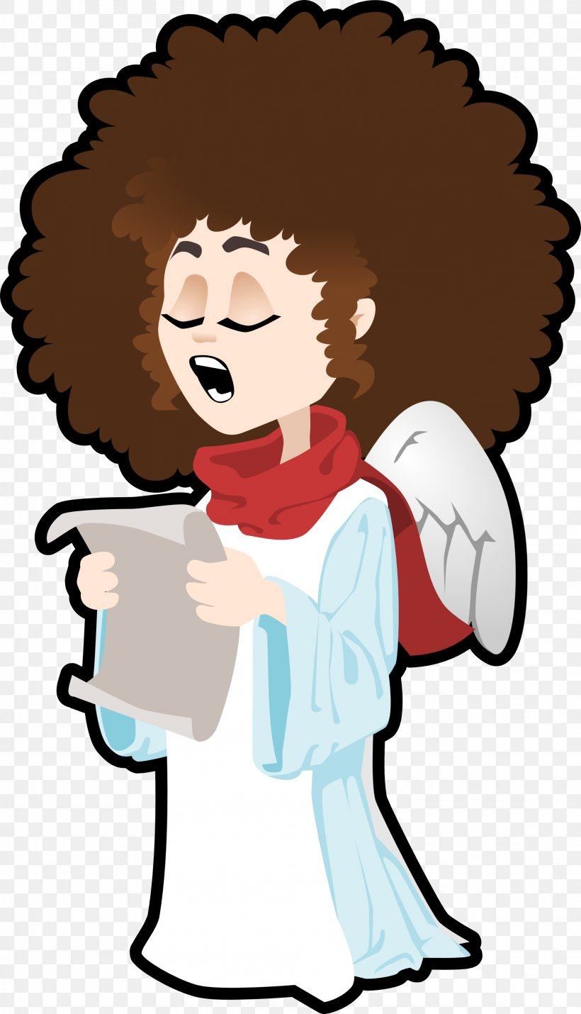 Singing Angel Clip Art, PNG, 1979x3452px, Watercolor.