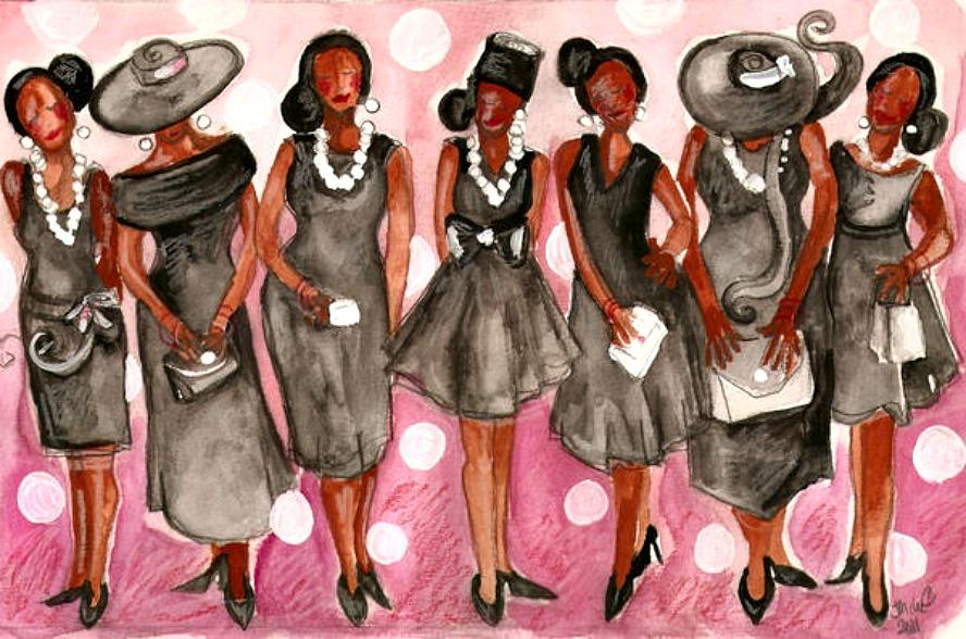 Black church women clipart 9 » Clipart Station.