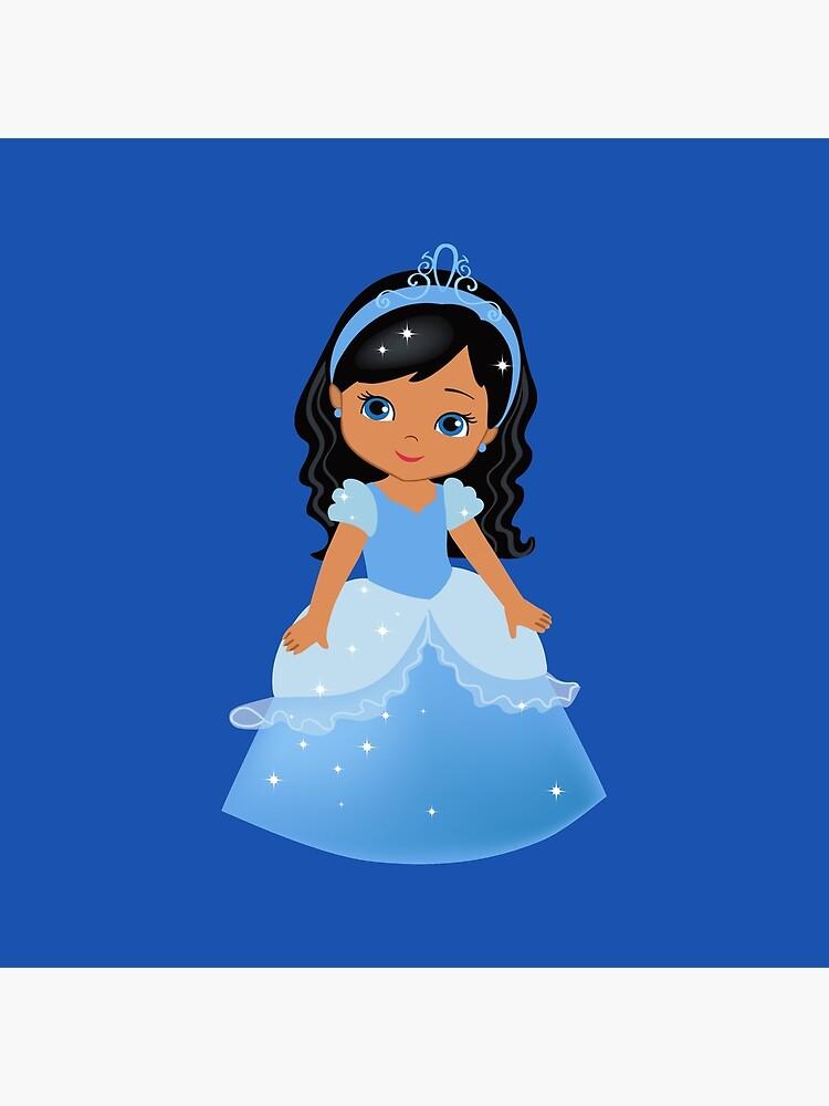 African American Princess Cinderella.