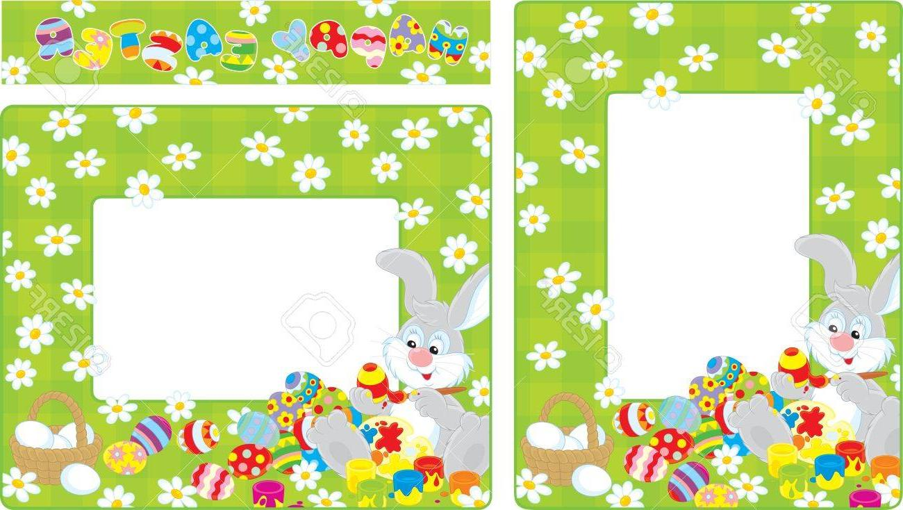 Best HD Easter Border Clip Art Vector Pictures » Free Vector.