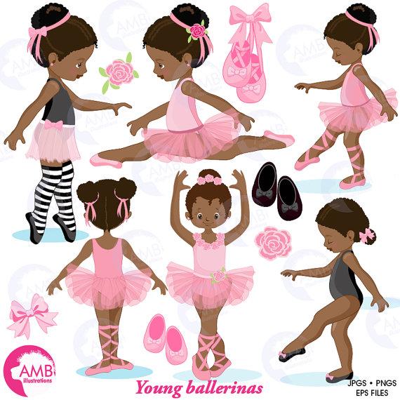 Ballet clipart african american, Ballet african american.