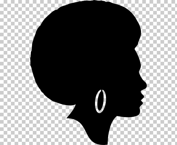 African American Black Silhouette , Silhouette PNG clipart.