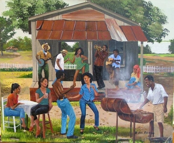 5 Pieces of African American Cookout Art You Must Have.