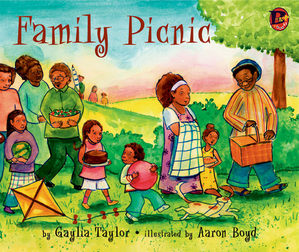 African american family picnic clipart   ciij.