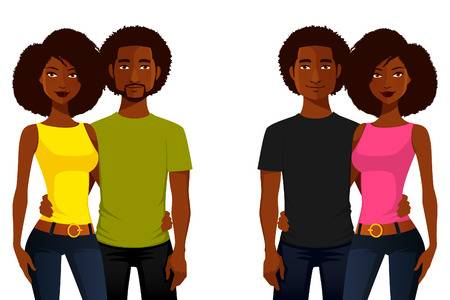 918,078 Black People Stock Vector Illustration And Royalty Free.