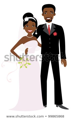 Vector Images, Illustrations and Cliparts: African American couple.