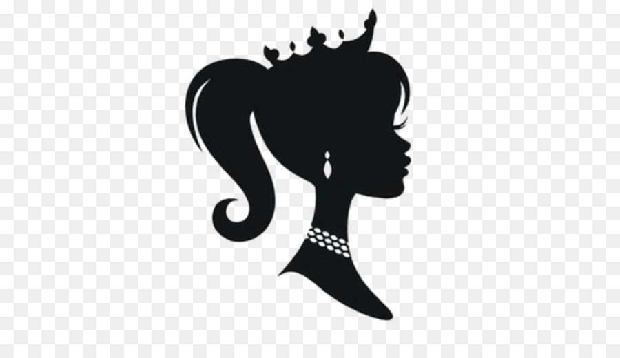 Free Black Barbie Silhouette, Download Free Clip Art, Free.