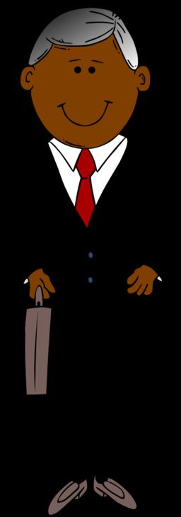 African Man Clipart.