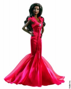 African American Barbie Doll.