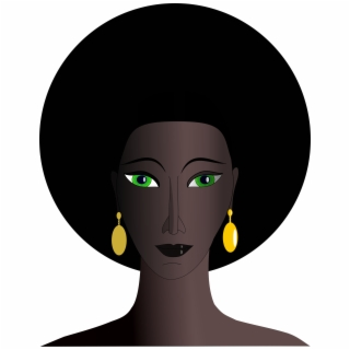 African American Woman Face Silhouette At Getdrawings.