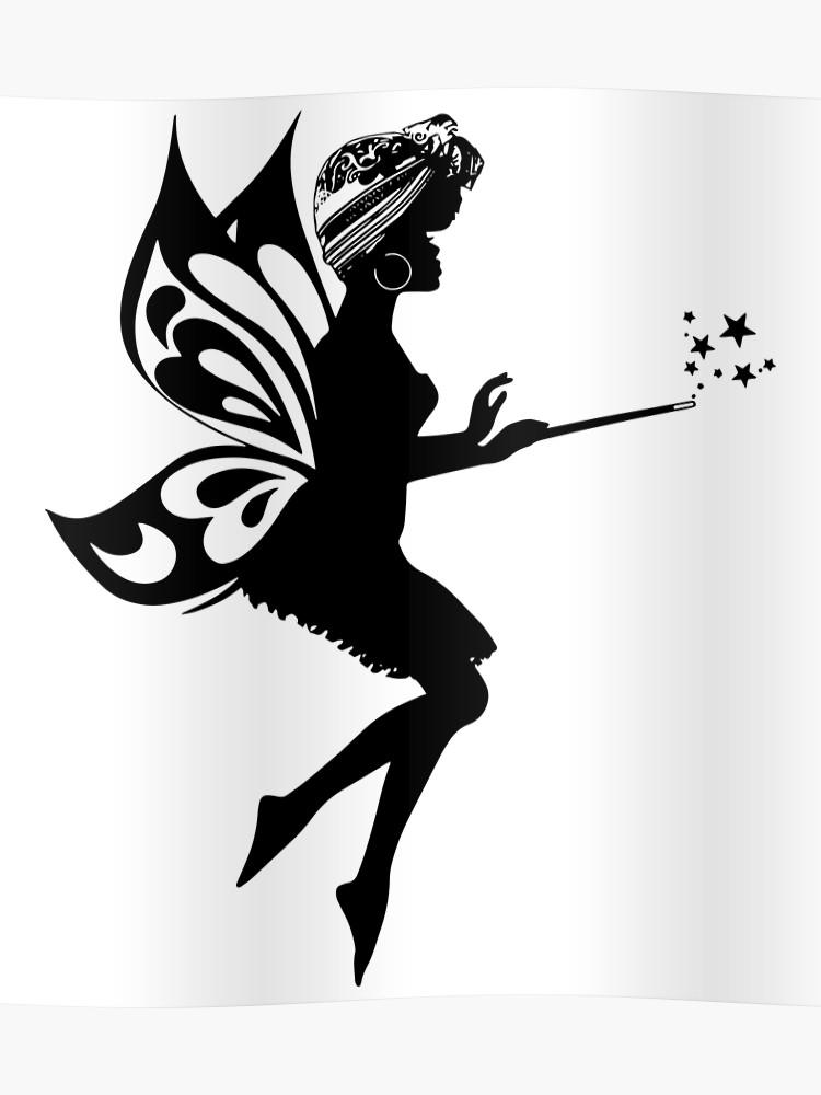 African American Fairy Meme Generator.