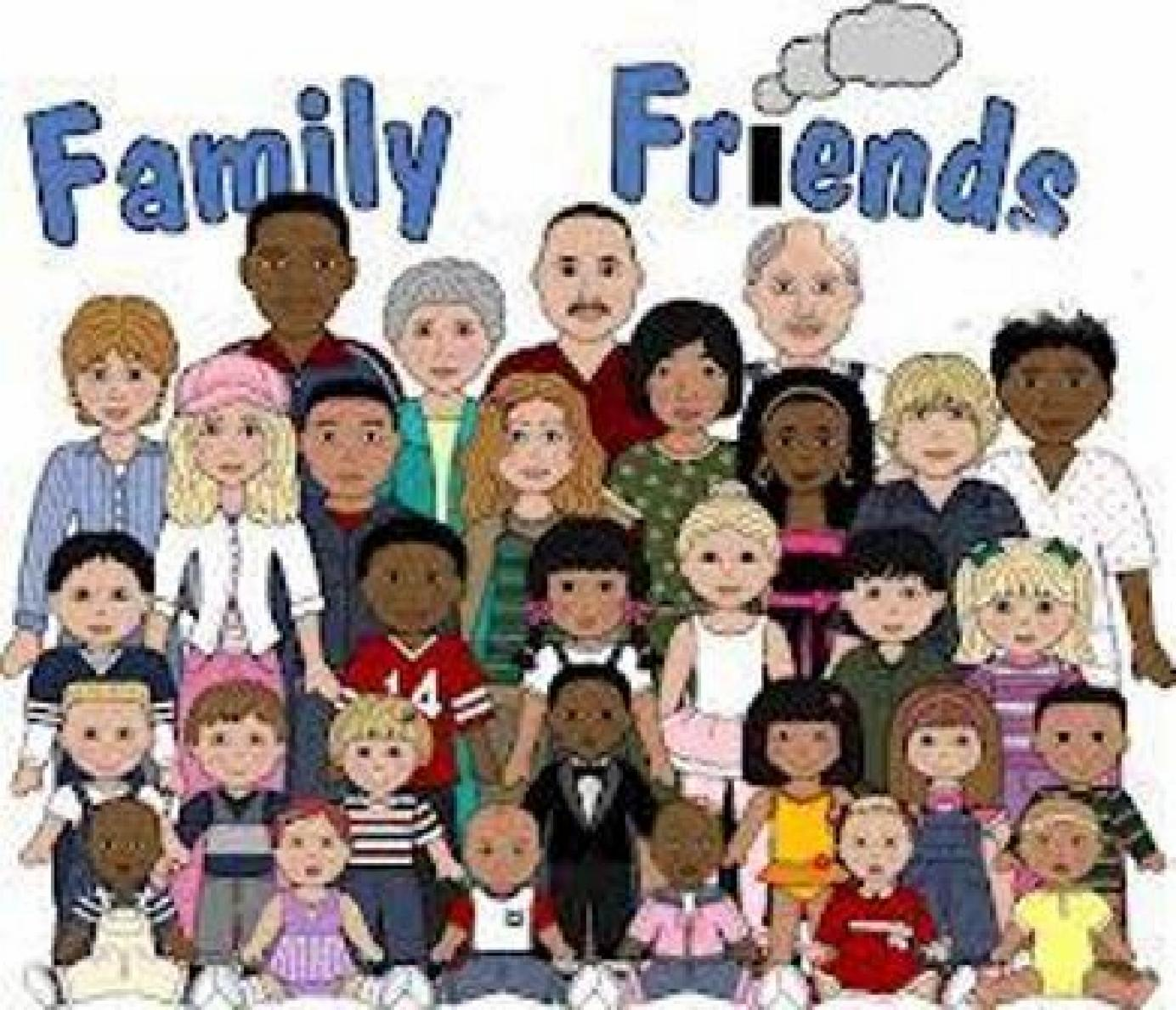 Clipart Family And Friends.