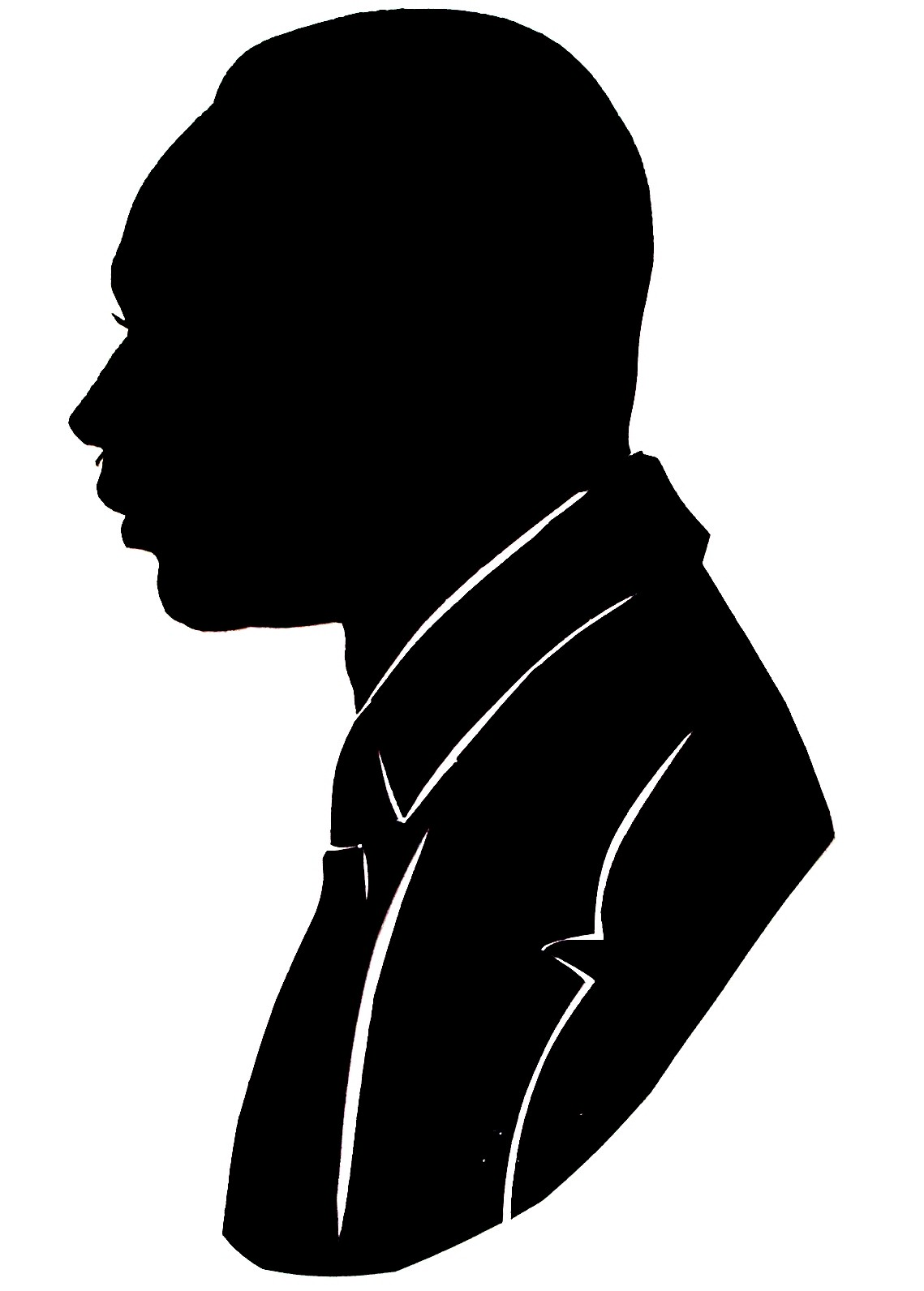 Famous Person Silhouette.
