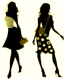 Black Fashion Show Clipart.