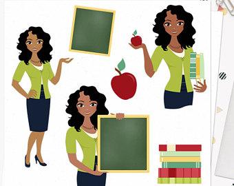 African clipart teacher, African teacher Transparent FREE.