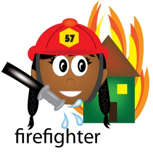 Free Firefighter Clipart Image 0515.