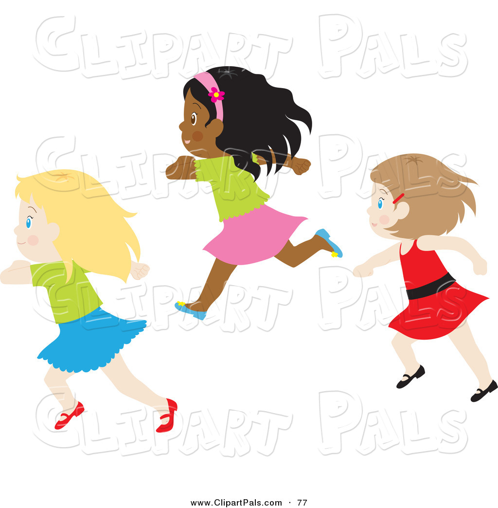 African American Friends Clipart.