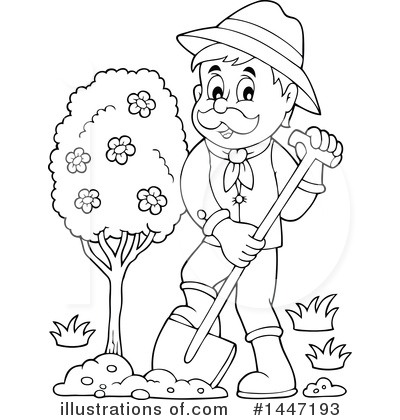 Gardener Clipart #1447193.