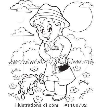 Gardening Clipart #1100782.