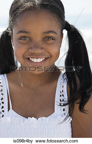 Pictures of African american girl with pigtails is098r4by.
