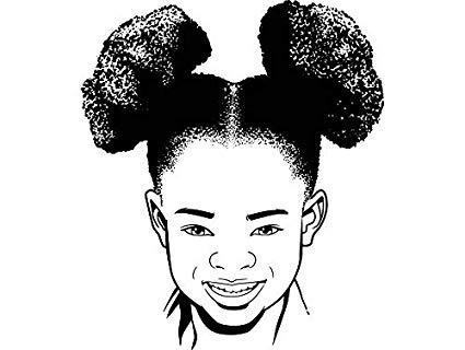 Amazon.com: EvelynDavid Pretty Girl Afro Puff Stylish.