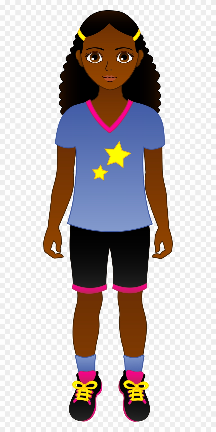 American Girl Doll Clipart At Getdrawings.