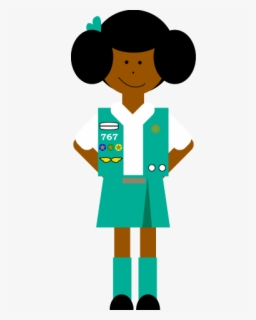 Free Girl Scouts Clip Art with No Background.