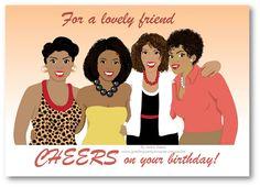 34 Best black women birthday images.