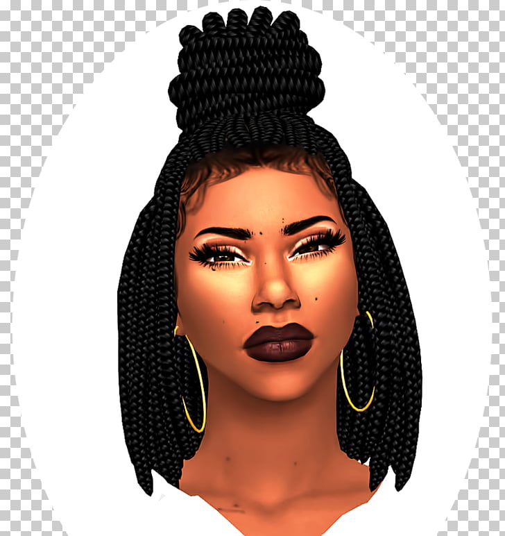 The Sims 4 Hairstyle The Sims 3 Afro, African american baby.