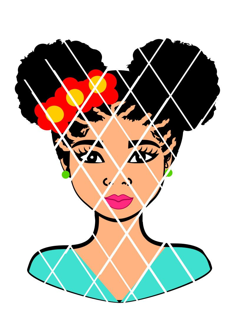 Pin on Afro Nubian svg cut files.