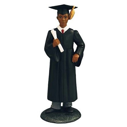 African American Graduation Figurines and Gifts.