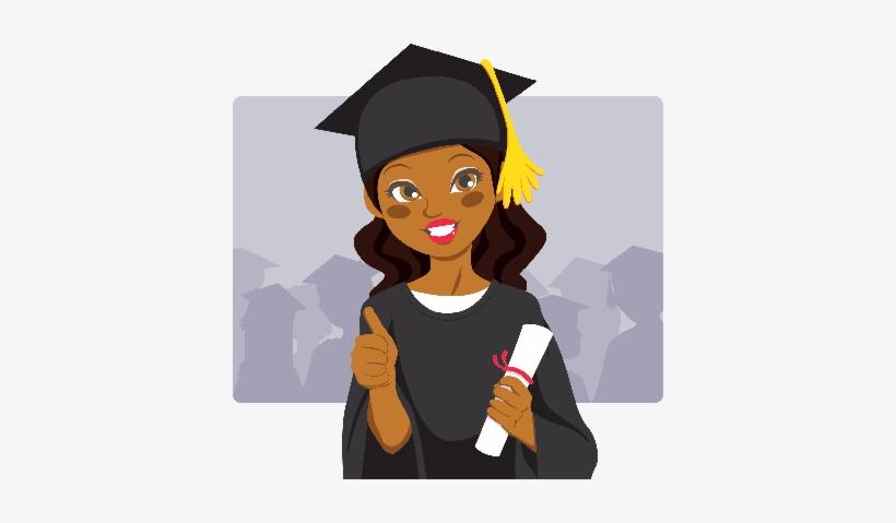 Png Royalty Free Download African American Graduate.