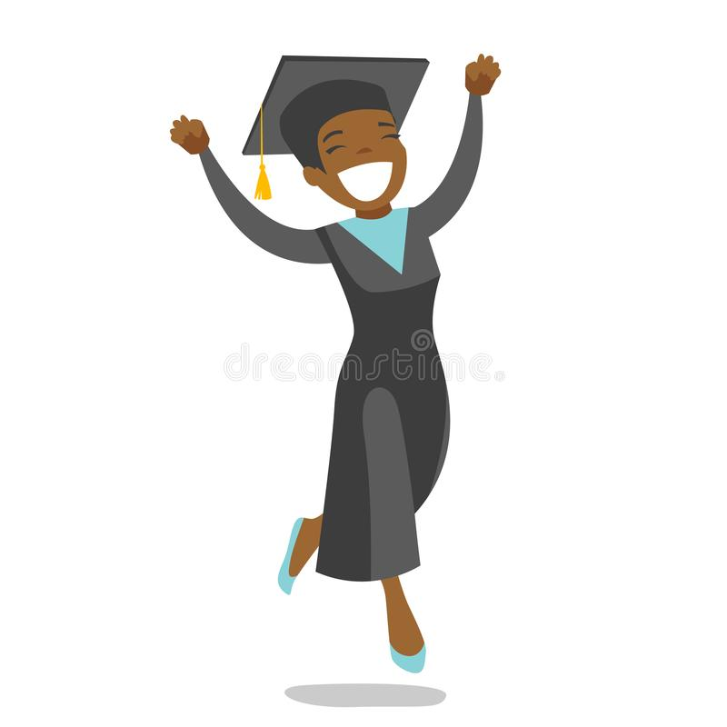 African American Graduate Stock Illustrations.