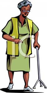African American Grandmother Clipart.